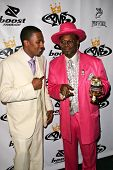 LOS ANGELES - OCTOBER 10: Nick Cannon and Bishop Don Magic Juan at the birthday party for Nick Canno