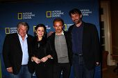 Graham Beckel, Geraldine Hughes, Jesse Johnson, Billy Campbell at the National Geographic Channels'
