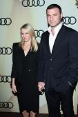 Naomi Watts and Liev Schreiber at the Audi Golden Globe 2013 Kick Off Cocktail Party, Cecconi's, Wes