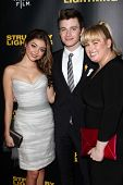 Sarah Hyland, Chris Colfer, Rebel Wilson at the