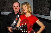LOS ANGELES - DECEMBER 29: John Parker and Rena Riffel in studio, Private Location December 29, 2006 in Los Angeles, CA