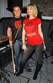 LOS ANGELES - DECEMBER 29: Justin Rubin and Rena Riffel in studio, Private Location December 29, 2006 in Los Angeles, CA