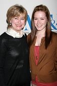 LOS ANGELES - DECEMBER 05: Jane Pauley and daughter at the Presentation of