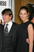 WESTWOOD, CA - DECEMBER 07: Tom Cruise and Katie Holmes at the premiere of