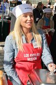 LOS ANGELES - DECEMBER 22: Pamela Bach-Hasselhoff at the Annual Los Angeles Mission Christmas Event