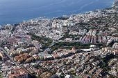 Aerial View Of Marbella.