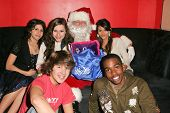 WEST HOLLYWOOD - DECEMBER 09: Nickelodeon Cast Members at My Stuff Bags Foundations's Holiday Stuff-A-Thon benefitting Children In Crisis December 09, 2006 in Guys, West Hollywood, CA.