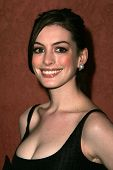 BEVERLY HILLS, CA - DECEMBER 11: Anne Hathaway at the Annual ACLU Bill of Rights Awards Dinner at Re