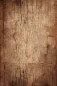 Old Wooden Board In Grunge Style