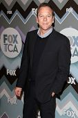 Kiefer Sutherland at the FOX Winter TCA All-Star Party 2013, Langham Huntington Hotel, Pasadena, CA 01-08-13
