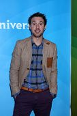 Sam Huntington at NBCUniversal's
