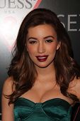 Christian Serratos at 30 Years Of Fashion And Film and the Next Generation of Style Icons presented by W and Guess, Laurel Hardware, West Hollywood, CA 01-08-13