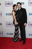 Rumer Willis and Jayson Blair at the 2013 People's Choice Awards Arrivals, Nokia Theater, Los Angele