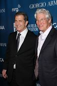 Mel Gibson, Richard Gere at the 2nd Annual Sean Penn & Friends