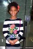 Quvenzhane Wallis at the 2013 Film Independent Filmmaker Grant And Spirit Award Nominees Brunch, BOA, West Hollywod, CA 01-12-13