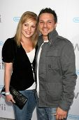 Lea Lachey and Drew Lachey at the party celebrating the launch of Nintendo's Game Console Wii. Boulevard 3, Los Angeles, California. November 16, 2006.