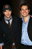 LOS ANGELES - NOVEMBER 15: Ashton Kutcher and Charlie Ebersol at the Los Angeles Premiere of