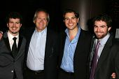 LOS ANGELES - NOVEMBER 15: Willie Ebersol, Dick Ebersol, Charlie Ebersol and Kip Kroeger at the Los