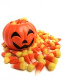 Pumpkin And Candy Corn
