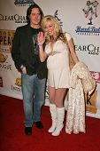 LOS ANGELES - DECEMBER 31: Jeremy London and Melissa Cunningham at the Gridlock New Years Eve 2007 P