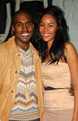 Kanye West and Alexis Rainey at the Stella McCartney`s Holiday Window Lighting to benefit the Kanye