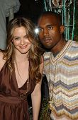 Alicia Silverstone and Kanye West at the Stella McCartney Holiday Window Lighting to benefit the Kan