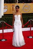 Kerry Washington at the 19th Annual Screen Actors Guild Awards Arrivals, Shrine Auditorium, Los Ange