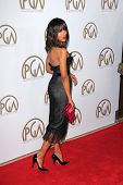 Kerry Washington at the 24th Annual Producers Guild Awards, Beverly Hilton, Beverly Hills, CA 01-26-13