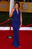 Jordin Sparks at the 19th Annual Screen Actors Guild Awards Arrivals, Shrine Auditorium, Los Angeles, CA 01-27-13