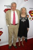 HOLLYWOOD - NOVEMBER 16: Jack Larson and Noel Neill at the