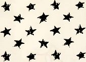 Stars Cotton Chintz