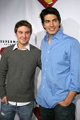 HOLLYWOOD - NOVEMBER 16: Sam Huntington and Brandon Routh at the