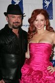 BEVERLY HILLS - NOVEMBER 30: Louie Jones and Phoebe Price at Divine Design 2006 Benefitting Project