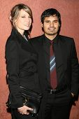 Michael Pena and guest at the Hollywood Life Magazine's Breakthrough of the Year Awards. Music Box, Hollywood, California. December 10, 2006.