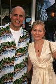 WESTWOOD - JULY 17: Jeffrey Tambor and wife Kasia Ostlun at the premiere of