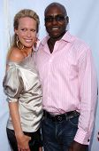 HOLLYWOOD - JULY 19: Lesa Amoore and Carl Lewis at the season two premiere of