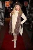 Terry Moore at the Opening Night of