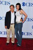 PASADENA - JULY 15: David McCallum and Pauley Perrette at CBS's TCA Press Tour at The Rose Bowl on July 15, 2006 in Pasadena, CA.