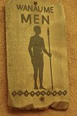 African Male Toilet Sign