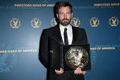 Ben Affleck at the 65th Annual Directors Guild Of America Awards Press Room, Dolby Theater, Hollywoo
