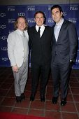 Jonathan Gordon, David O. Russell, Bruce Cohen at the SBIFF Outstanding Performer of the Year award honoring Jennifer Lawrence, Arlington Theater, Santa Barbara, CA 02-02-13