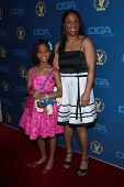 Quvenzhane Wallis, Qulyndreia Wallis at the 65th Annual Directors Guild Of America Awards Arrivals, Dolby Theater, Hollywood, CA 02-02-13