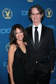 Susanna Hoffs, Jay Roach at the 65th Annual Directors Guild Of America Awards Arrivals, Dolby Theater, Hollywood, CA 02-02-13