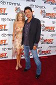 STUDIO CITY, CA - AUGUST 13: Susan Wood and Adrian Zmed at
