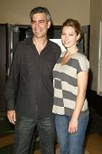 SANTA MONICA - JULY 28: Michael London and Jessica Biel at the sneak preview of