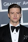 Justin Timberlake at the 55th Annual GRAMMY Awards, Staples Center, Los Angeles, CA 02-10-13
