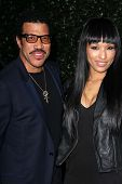 Lionel Richie and guest at the Topshop Topman LA Opening Party, Cecconis, West Hollywood, CA 02-13-13