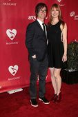 Alicia Witt, Ben Folds at MusiCares Person Of The Year Honoring Bruce Springsteen, Los Angeles Convention Center, Los Angeles, CA 02-08-13