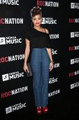 Andra Day at the Roc Nation Pre-GRAMMY Brunch, Soho House, West Hollywood, CA 02-09-13