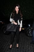 Katherine Schwarzenegger at the Topshop Topman LA Opening Party, Cecconis, West Hollywood, CA 02-13-